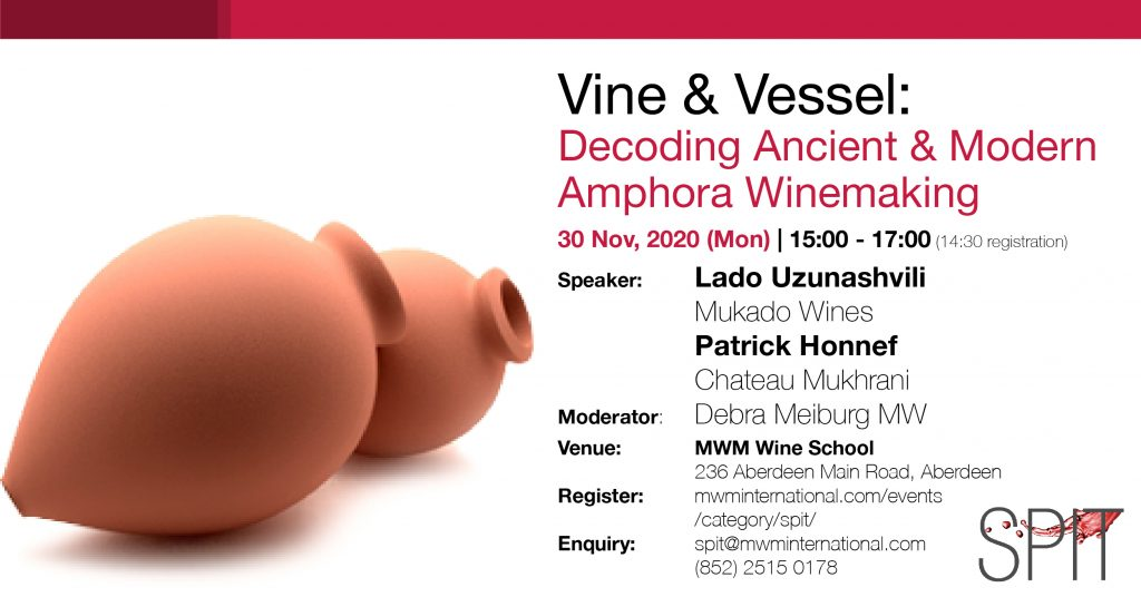 WineSPIT: Vine & Vessel